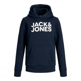 Felpa con cappuccio per bambini Jack & Jones Corp Logo