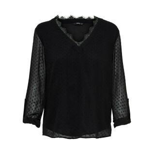 Maglietta a maniche lunghe da donna Only onlmacy fold up