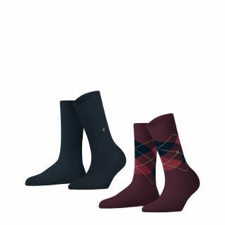 Set di 2 paia di calze da donna Burlington Everyday
