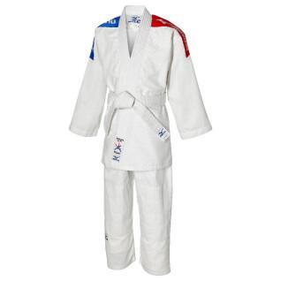 Kimono di judo per bambini Mizuno Shiro Plus FFJ