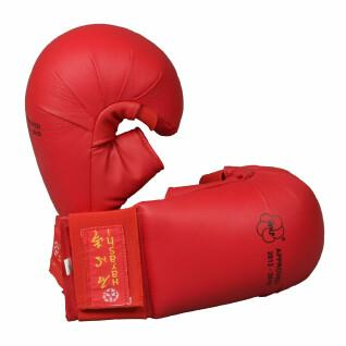 Guanti da karate con pollice Hayashi WKF approved