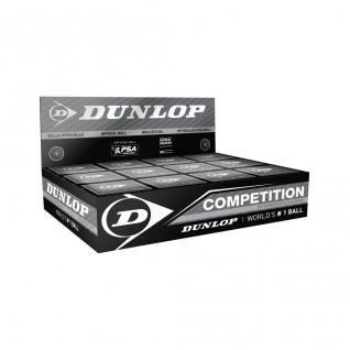 Set di 12 palline da squash Dunlop competition