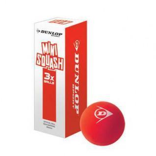 Set di 3 palle da squash Dunlop fun
