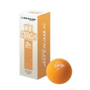 Set di 3 palle da squash Dunlop play