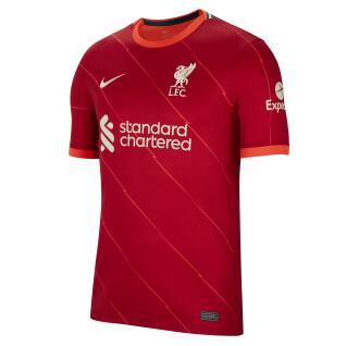Maglia per la casa Liverpool FC 2021/22