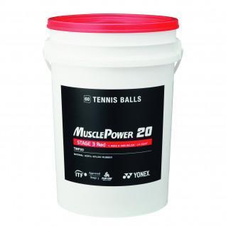 Palle da tennis Yonex TMP-20 x60