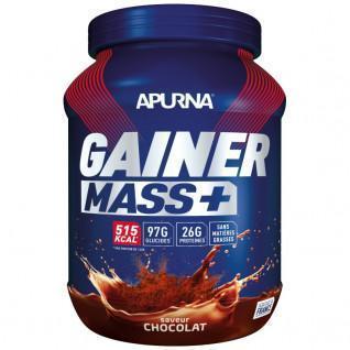 Pentola Apurna Gainer Mass Plus - Chocolat - 1.1 Kg