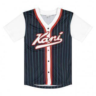 Maglietta Karl Kani Varsity Block Pinstripe Baseball