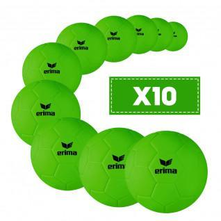 Set di 10 palloni da beach handball junior Erima