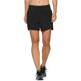 Pantaloncini da donna Asics Road 5.5in