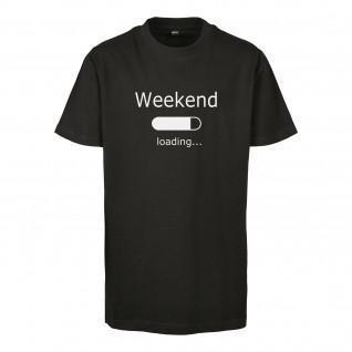Maglietta per bambini Urban Classics weekend loading 2.0