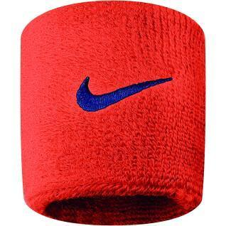 Set di 2 polsi in spugna Nike Swoosh