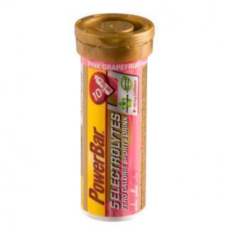 Tablets PowerBar Electrolytes 5 - Pink Grapefruit caffeine (12X10 tabs)
